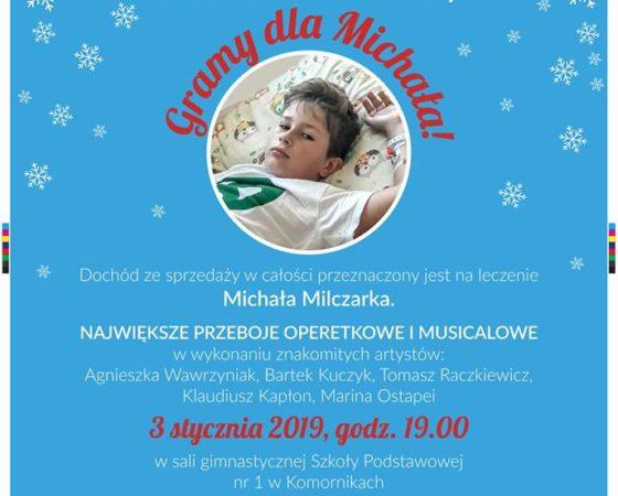 """""""Gramy dla Michała"""" koncert noworoczny"""