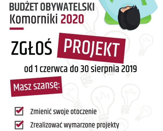 Budżet Obywatelski Gminy Komorniki 2020