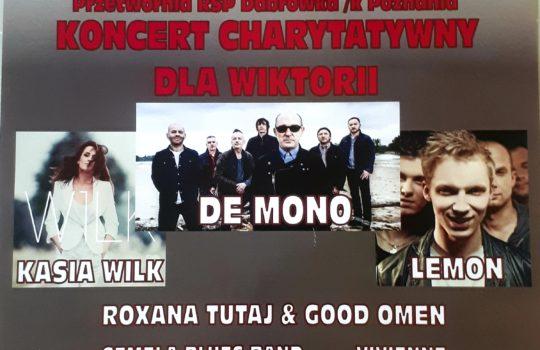 Koncert charytatywny dla Wiktorii