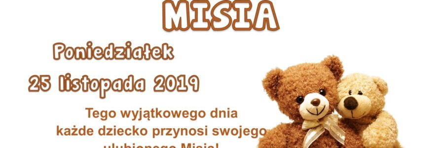 Dzień Pluszowego Misia